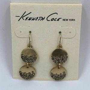 Gold Kenneth Cole Dangle Earrings